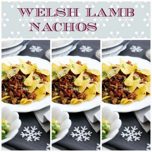 Welsh Lamb Nachos: Christmas Party Food