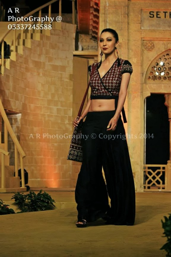 Sindh Festival Fashion Show 2014 Sindhi Dresses