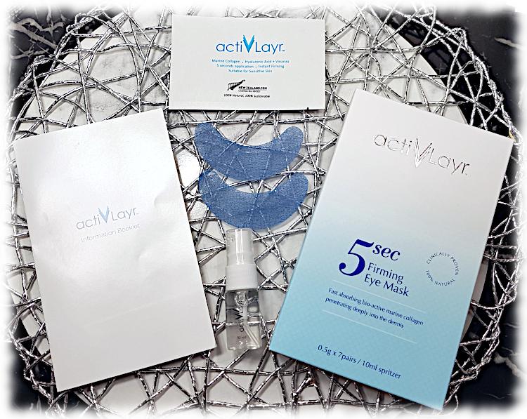 ActivLayr Eye Mask pack