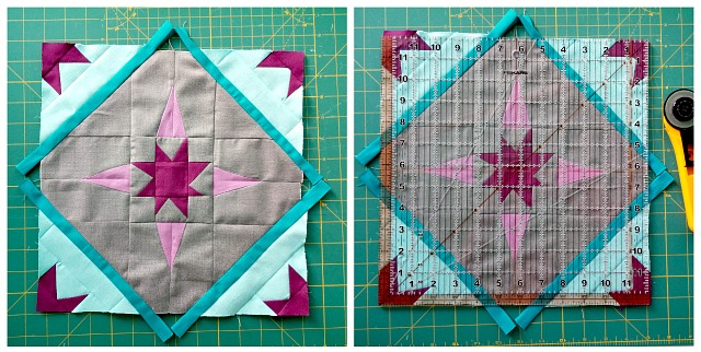 Stellar Flare, Quilt Block, free pattern, Quilting, New Block blog hop, Cloud 9 Fabrics, Puppilalla, Solids, new design, quilting tutorial
