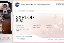 Cara Membuat Tiket Pendaftaran ke Planet Mars