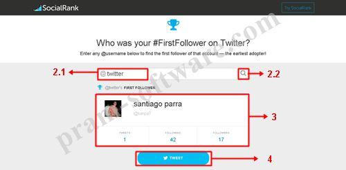 Langkah Mengetahui Follower Pertama di Twitter
