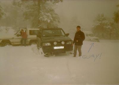 Lo 4L de Guay (nevada de hace bastantes años)