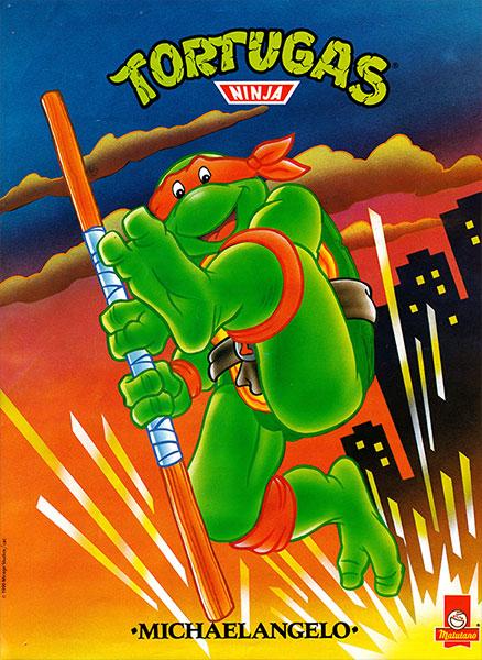 Póster Las Tortugas Ninja nº 5