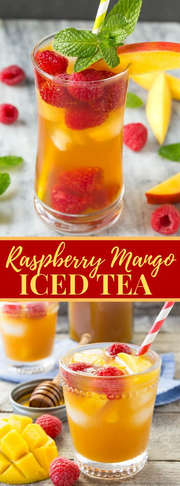 MANGO ICED TEA #drink #simplerecipe