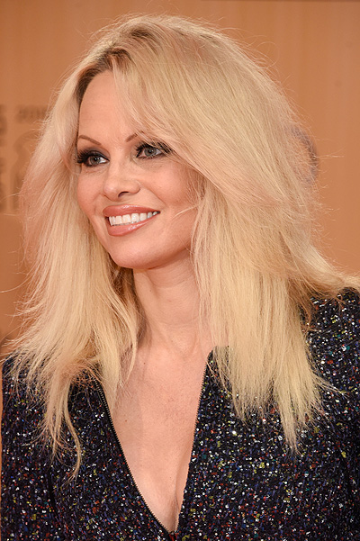 Pamela Anderson at  Bambi Awards-2015