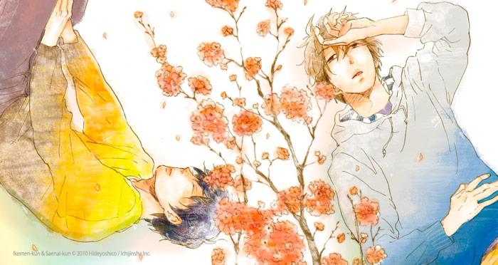 Ikemen-kun & Saenai-kun (Ikemen-kun to Saenai-kun) manga - BL - Hideyoshico - Milky Way Ediciones