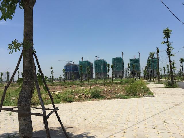 Tiến độ thi công xây dựng khu 6 tòa Chung cư B2.1 HH03 Thanh Hà ngày 19/5/2018