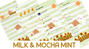 Tema OPPO Tembus Akar || Milk and Mocha Mint