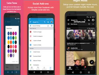 Simple Social Pro Apk v9.9.8 [Patched] [Mod]