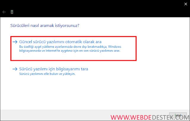 Windows 10 mobil etkin noktayı ayarlayamıyoruz sorunu ve çözümü