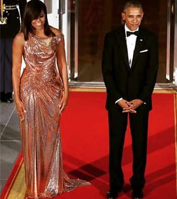 obama and wife