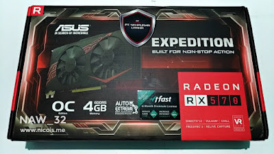 Unboxing Asus Expedition Radeon RX 570 4GB OC