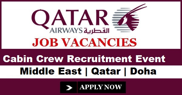 Cabin Crew Recruitment Event Karachi 22-Sep-2018 - qatar airways