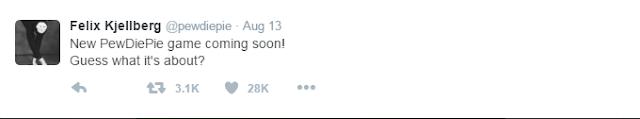 pewdiepie official twitter