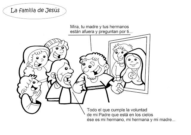 PARA COLOREAR: Jesús