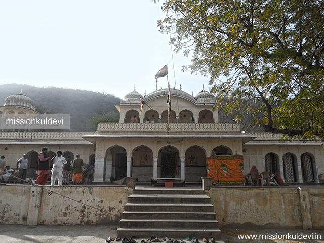 Inside Rajrajeshwari Mata Temple Jaipur