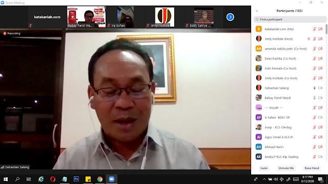 Jimly Institute: Dukung UMKM Dalam Rangka Pemulihan Ekonomi