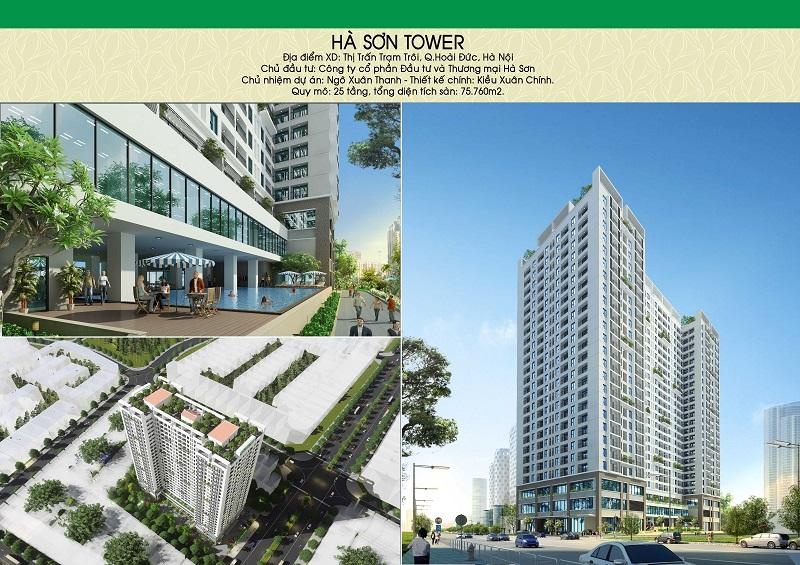 Chung cư Hà Sơn Tower là khu đô thị mở kết hợp an cư và kinh doanh hiện đại, đẳng cấp
