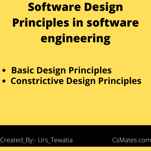 software design principles in software engineering
