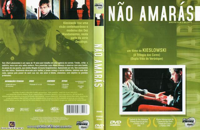 Capa DVD Não Amarás