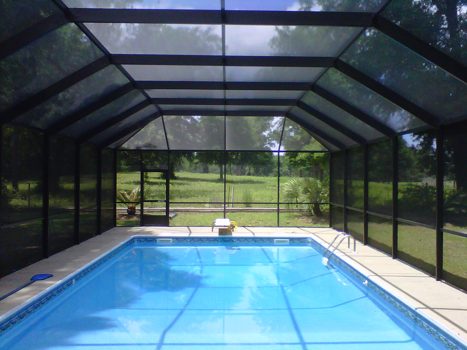 Pool enclosures usa estimating pool enclosure costs - Swimming pool screen enclosures cost ...