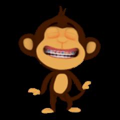 Awake Monkey Happy