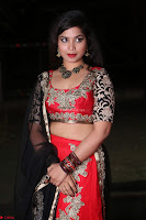 Sirisha Dasari in Red Ghagra Backless Choli ~  014.JPG