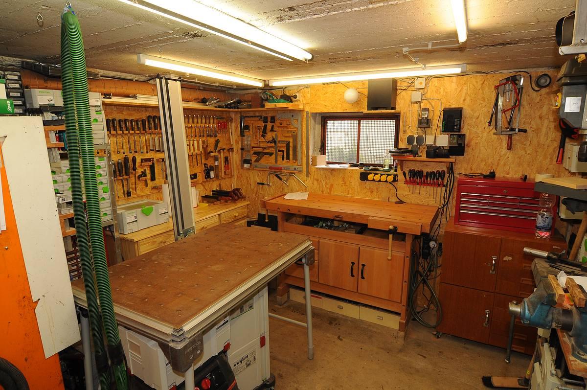 Michas Holzblog Werkstatt