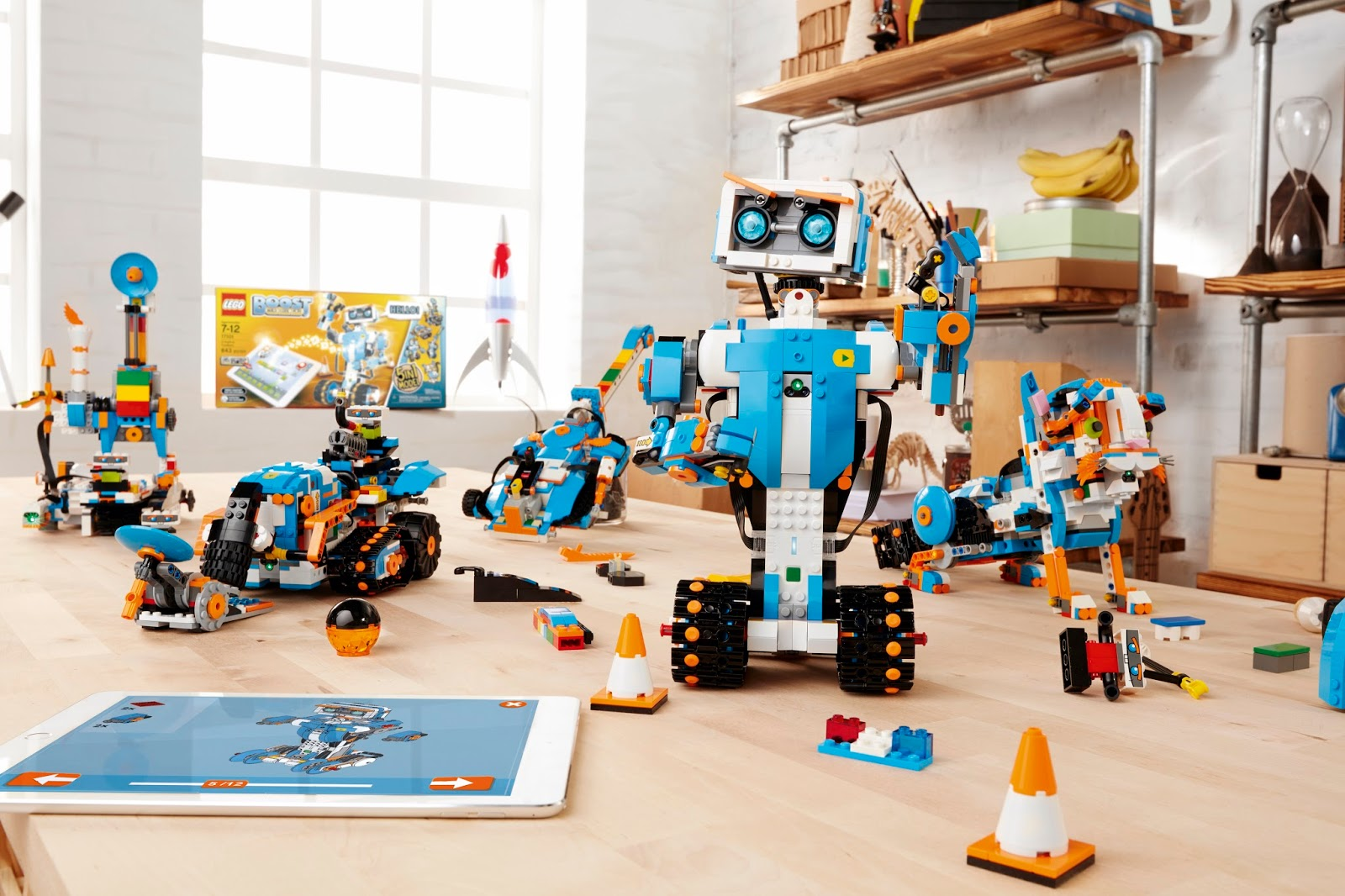 Lego Boost Robotics For Kids Age 7