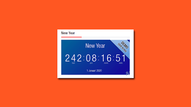 Cara Membuat Countdown Timer Blogspot