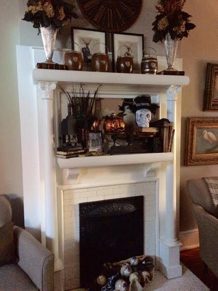 Antique mantel new orleans