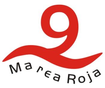 logo tipo de Marea Roja