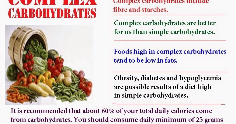 diet high in complex carbs