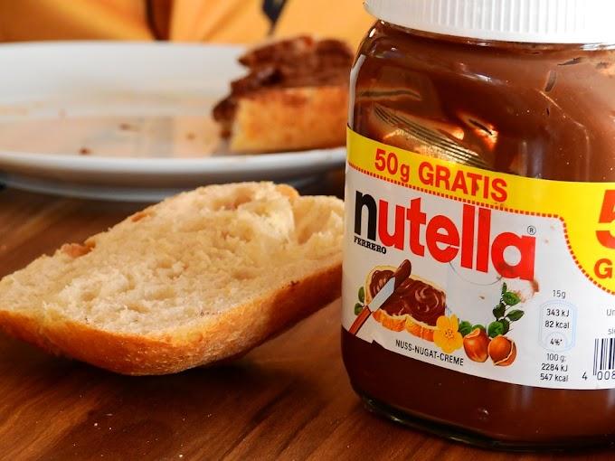 Canutillos de Nutella