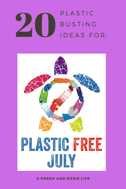 Use #PlasticFreeJuly to reduce plastic in our life