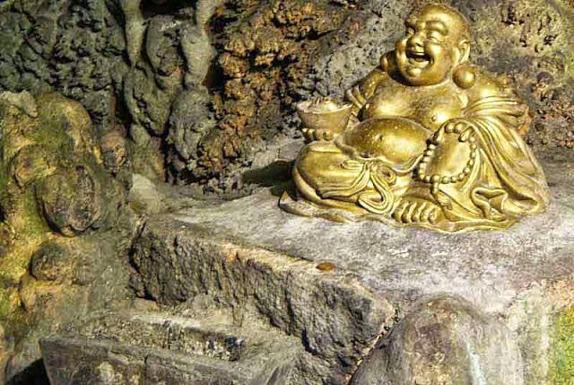 gold, Buddha, statue