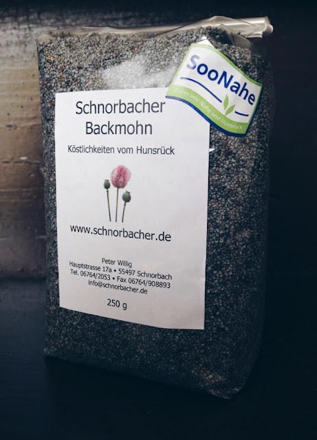 Schnorbacher Backmohn von Landwirt Peter Willig aus Schnorbach im Hunsrück. #Mohn #MoToLogie #SooNahe #Blaumohn #Hunsrück