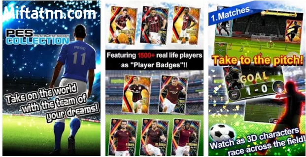 Game Bola Terbaik Android PES Collection APK Terbaru