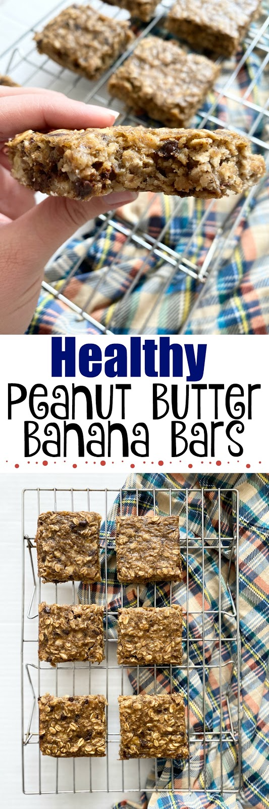 health peanut butter banana bars