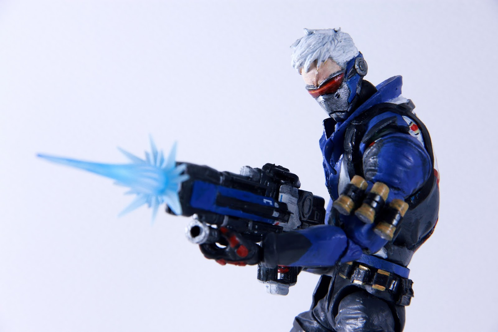 Red Dot Toy Review Custom Figure Overwatch Soldier 76
