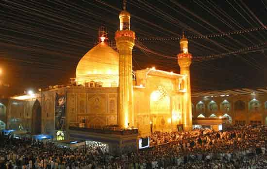 Fenomena Dibalik Megahnya Masjid Imam Ali di Najaf, Irak