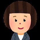 女性会社員の顔のアイコン3