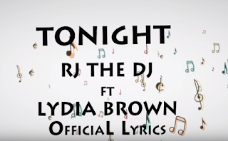 Rj The Dj Ft. Lydia Brown - Tonight ( Official Lyrics )