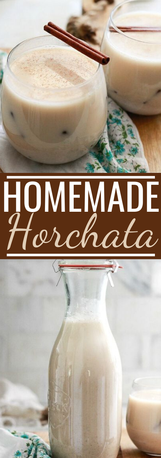 Horchata #drinks #nonalcoholic #winter #iced #beverages