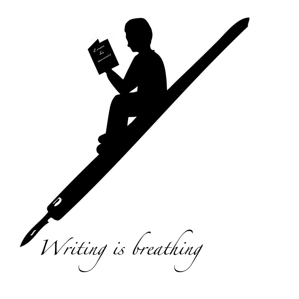 Writing is breathing