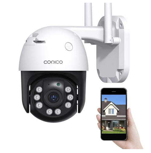 Conico Color Night Vision 1080P WiFi Security Camera