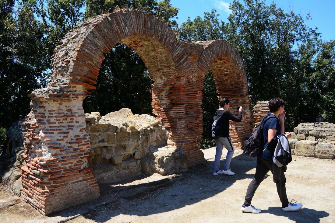 temple de Jupiter Cumes