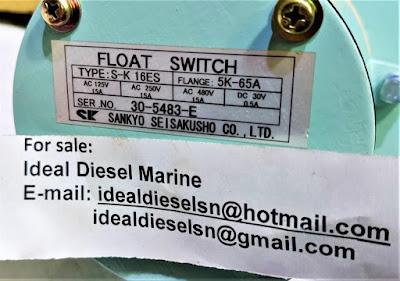 Sankyo Seisakusho S-K 16ES Flange: 5K-65A , SK16ES, SK 16 ES, 10K-65A Sankyo  ideal diesel marine