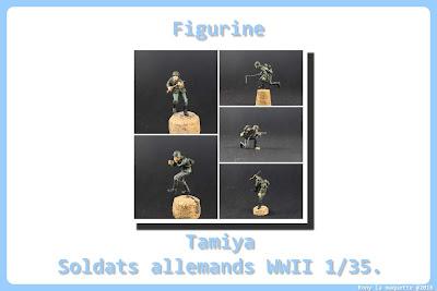 Figurine de l'armée allemande